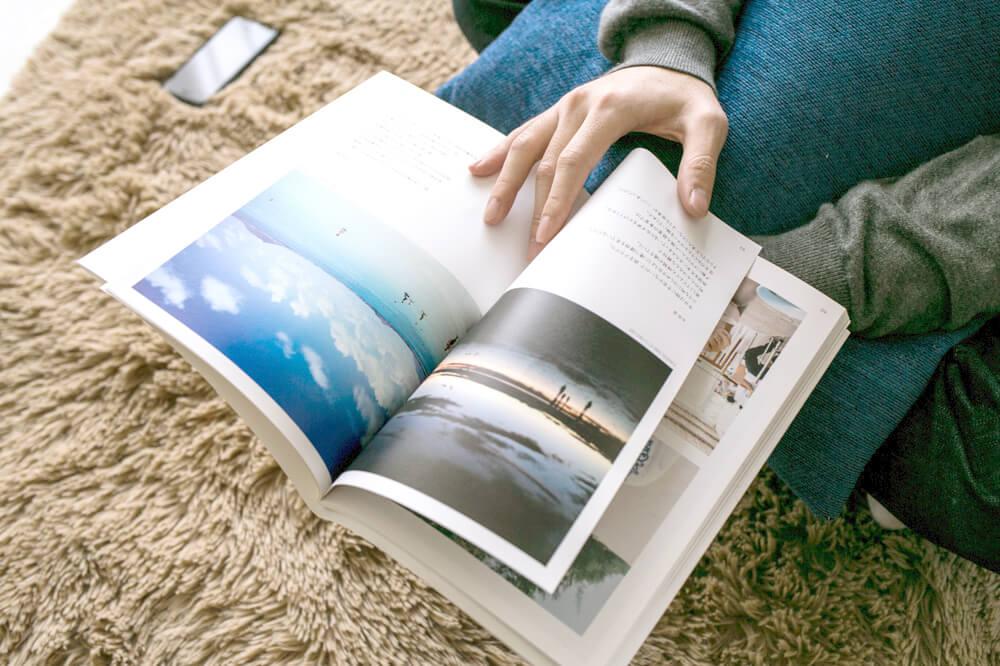 旅行の写真をフォトブックに