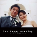 Our happy wedding