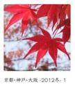 京都・神戸・大阪 -2012冬- 1