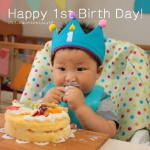 Happy 1st Birth Day!
