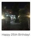 Happy 25th Birthday!