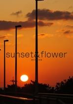 sunset&flower
