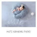 Mio's newborn photo