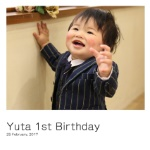 Yuta 1st Birthday